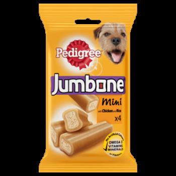 Pedigree Jumbone Mini (4 Sticks)