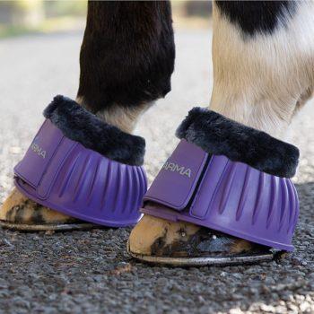 ARMA Fleece Topped Over Reach Boots