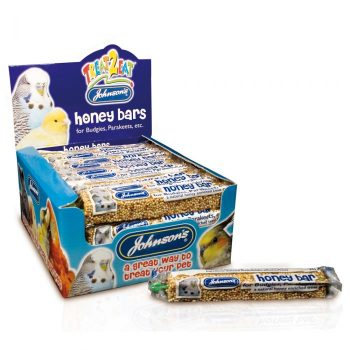 Johnsons Honey Bars for Budgies & Parakeets