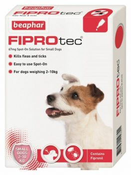 Beaphar FIPROtec Spot-On Small Dog 4 Pipettes