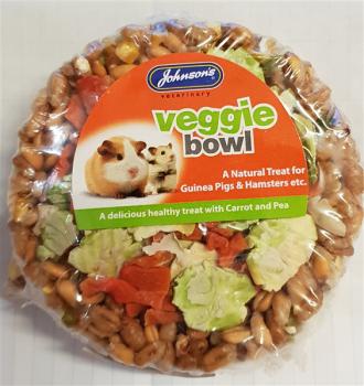 Johnsons Guinea Pig & Hamster Veggie Bowls