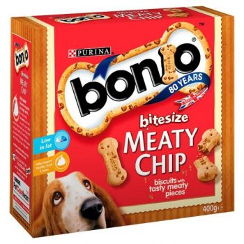 Bonio Meaty Chips Bitesize