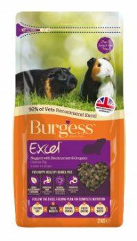 Burgess Excel Adult Guinea Pig Blackcurrant/Oregano 2Kg