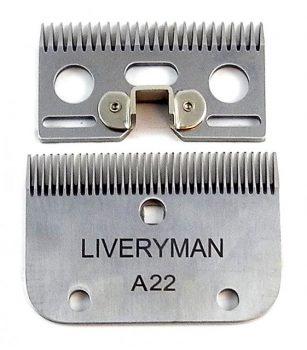 Liveryman A22 Fine Cutter & Comb
