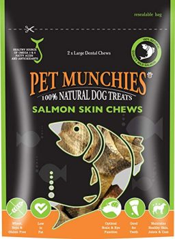 Pet Munchies Salmon Chews Large