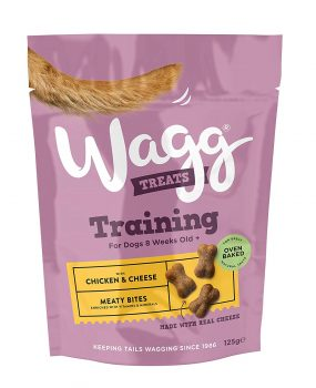 Wagg Training Treats Chicken & Cheese125g