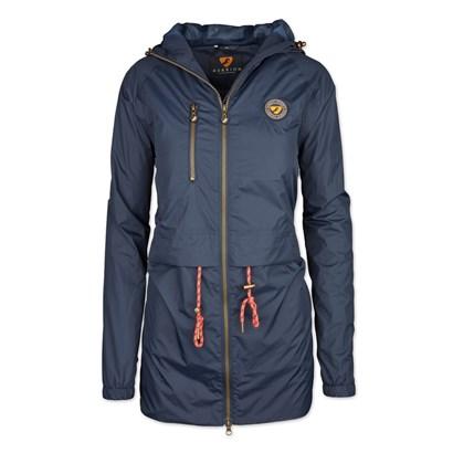 Navy Blue Shires Aubrion Hackney Womens Rain Jacket