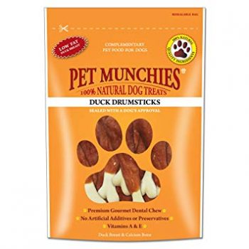 Pet Munchies Drumsticks Duck