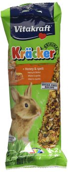 Vitakraft Kracker Honey Spelt Rabbit (2Pk)