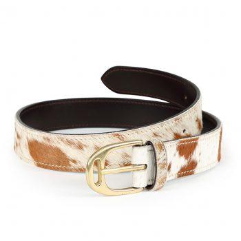 Aubrion Cow Hair Belt 35mm