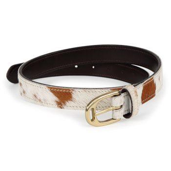 Aubrion Cow Hair Belt 25mm