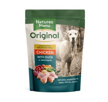 Natures Menu Dog Pouches – Chicken with Duck
