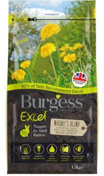 Burgess Excel Adult Rabbit Natures Blend
