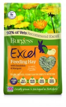 Burgess Excel Dandelion & Marigold Herbage