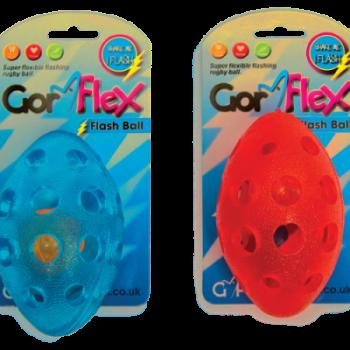 Gor Flex Flash Ball (13.5cm) Pink/Blue