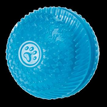 Gor Flex Squeak & Treat Ball (8cm) Blue/Red
