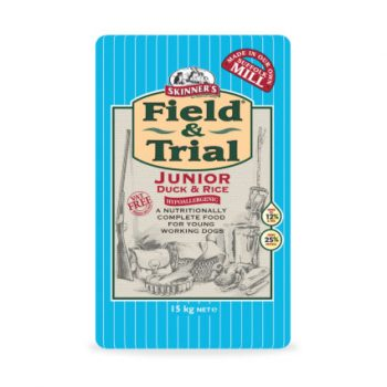 Skinners Field & Trial Junior Duck & Rice 15Kg