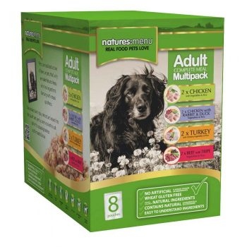 Natures Menu Dog Pouches Multipack 8x300g