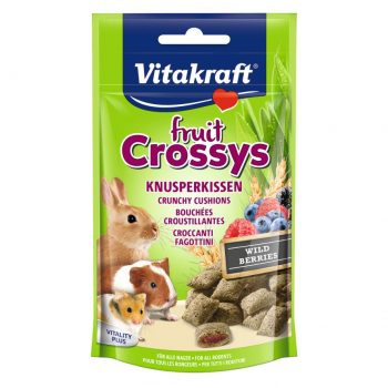 Vitakraft Rabbit Fruit Crossys Banana & Apricot