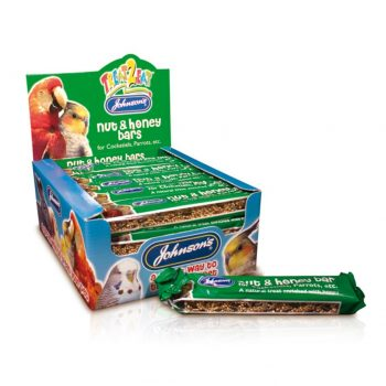 Johnsons Cockatiel & Parrot Nut & Honey Bars