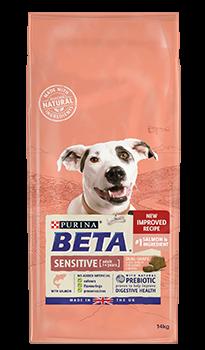 Beta Sensitive Dry Dog Food Salmon 2Kg