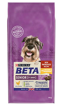 Beta Senior Dry Dog Food Chicken 2Kg
