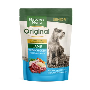 Natures Menu Dog Pouches – Senior Lamb with Chicken
