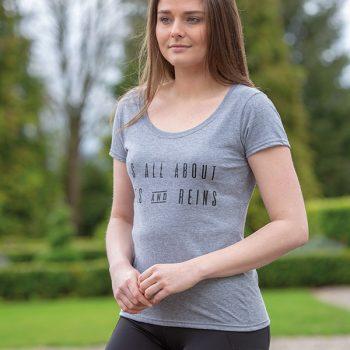 Bridleway Mane & Reins T-Shirt – Ladies