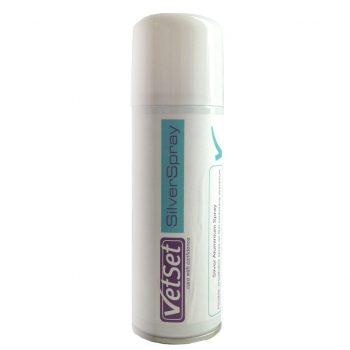 VetSet Aluminium Silver Spray 200ml