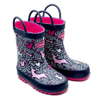 Chipmunks Woodland Wellington Boots