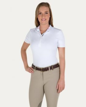 Noble Equestrian Allison Short Sleeve Pull on Show Shirt