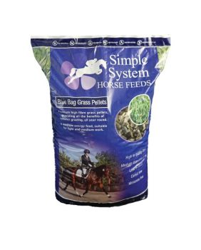 Simple Systems Blue Bag Grass Pellets 20kg