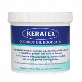Keratex Coconut Hoof Balm Black 400g