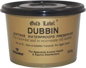 Gold Label Dubbin Black 200g