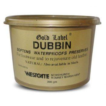 Gold Label Dubbin Natural 200g