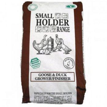Small Holder Goose & Duck Grower/Finisher Pellets 20kg