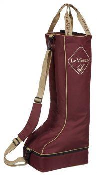 LeMieux Boot Bag Burgundy