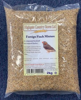 Rookes Foreign Finch Mixture 2Kg