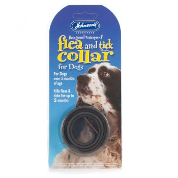 Johnsons Flea & Tick Collar For Dogs