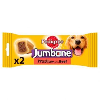 Pedigree Jumbone Beef Medium (2 Sticks)