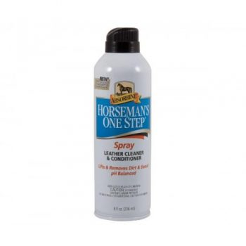 Absorbine Horseman's One Step Leather Cleaner & Conditioner Spray 8oz/236ml