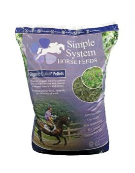 Simple Systems Organic Lucie Pellets 20kg