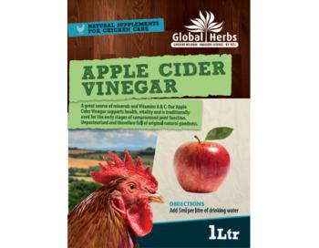 Global Herbs Apple Cider Vinegar 1L