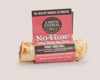 Earth Animal Salmon No-Hide Wholesome Chews