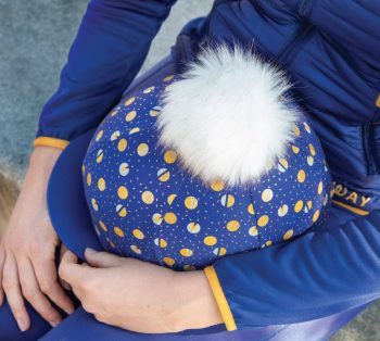 Bridleway Claire Pom Pom Hat Cover