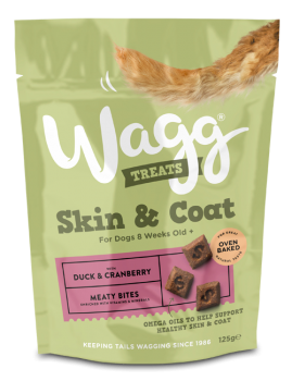 Wagg Skin & Coat Treats 125g