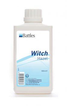 Battles Witch Hazel 500ml